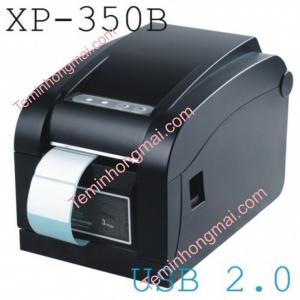 Máy in mã vạch XPrinter XP-350B (USB)